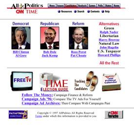 All Politics 1996