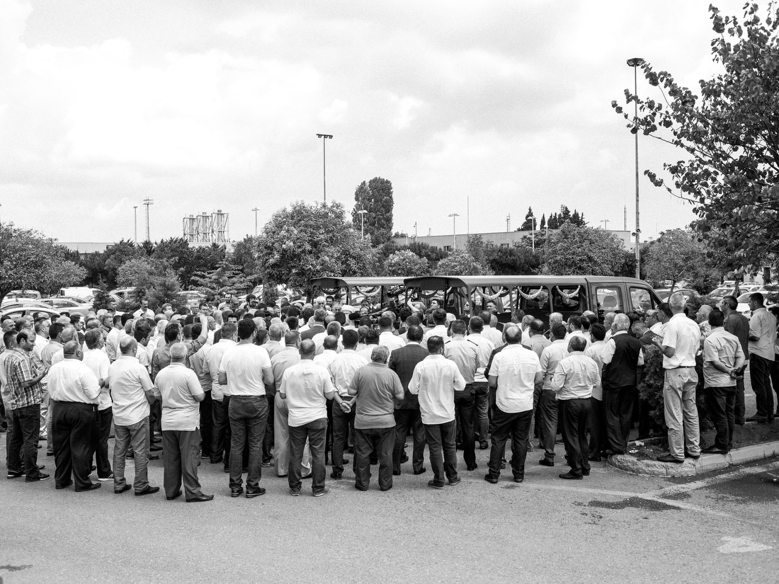 Funerals are held for some of the taxi drivers who lost their lives in the attack.