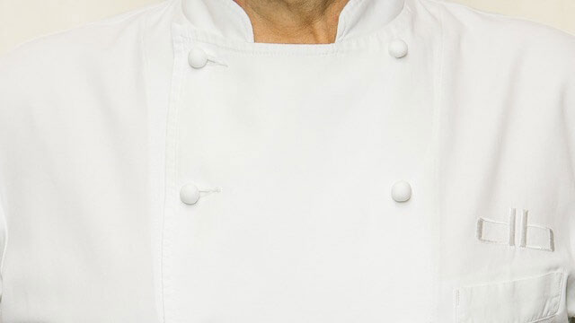 Daniel Boulud's custom chef's jacket