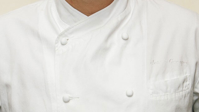 Jean-Georges Vongerichten's custom chef's jacket