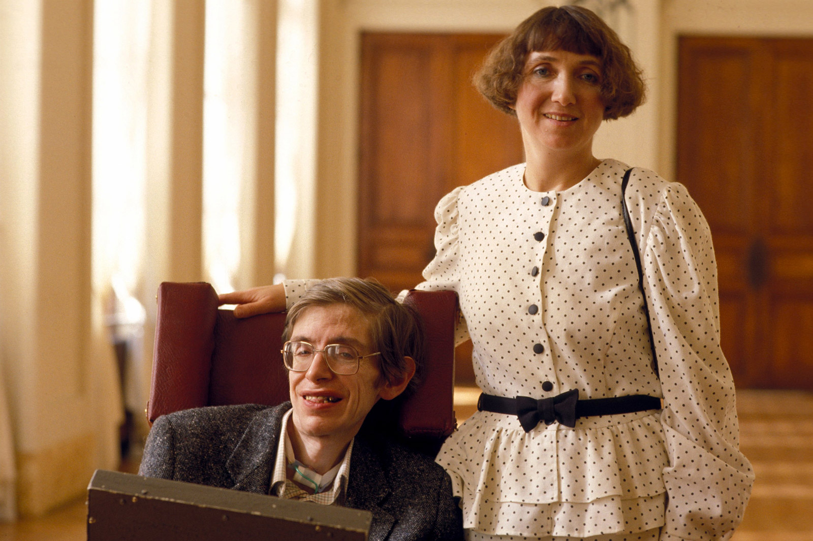 Stephen Hawking Frau