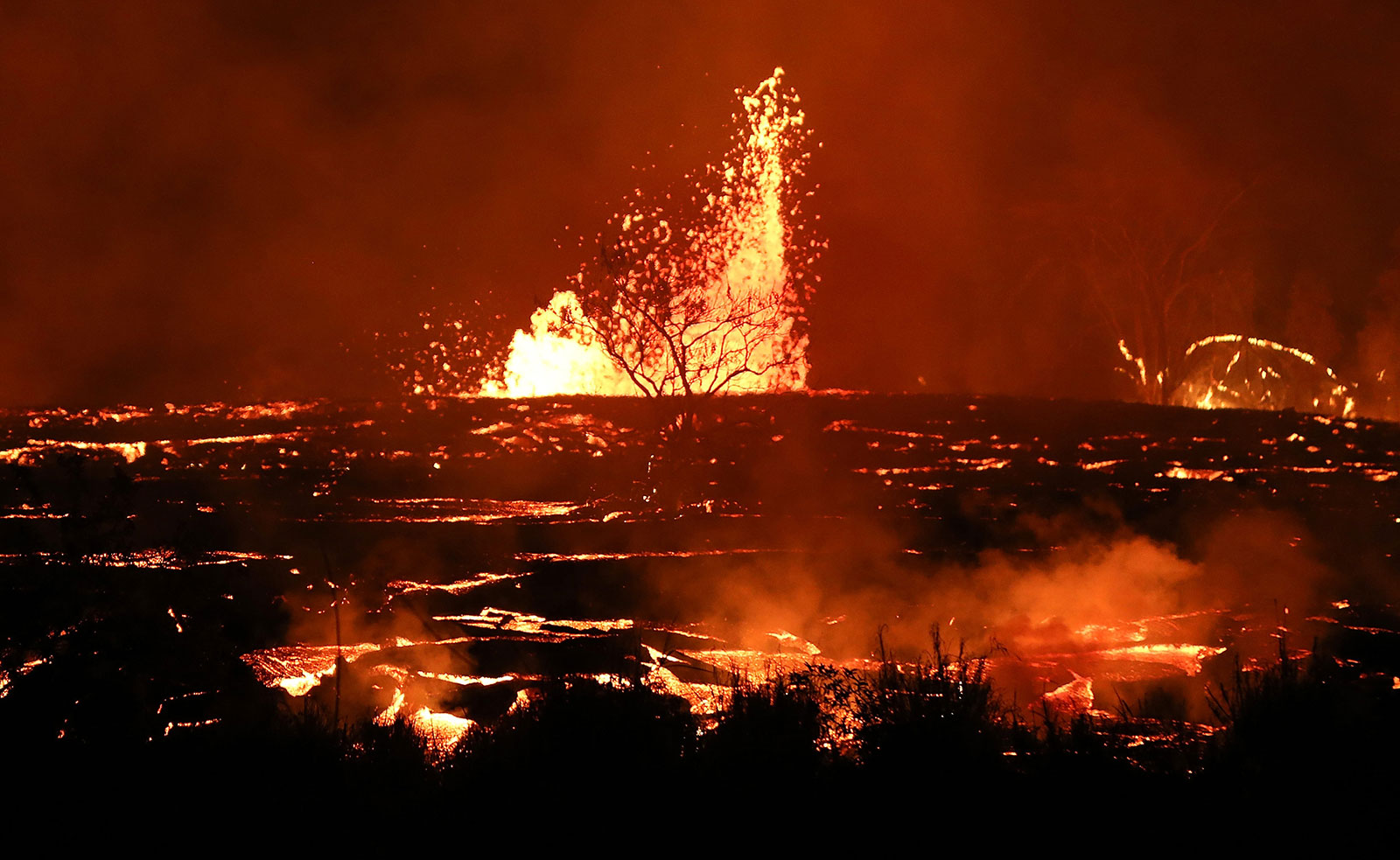 In Pictures  Hawaii U2019s Kilauea Volcano Erupts