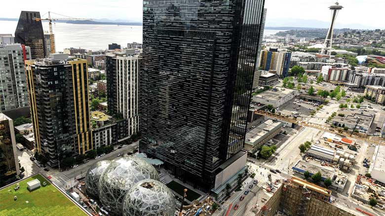 Amazon announces a new headquarters in Seattle