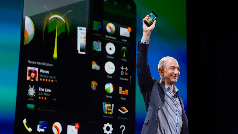 Amazon unveils its first (and last) smartphone