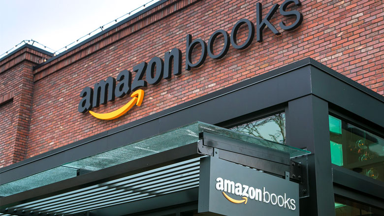 Amazon opens its first physical bookstore