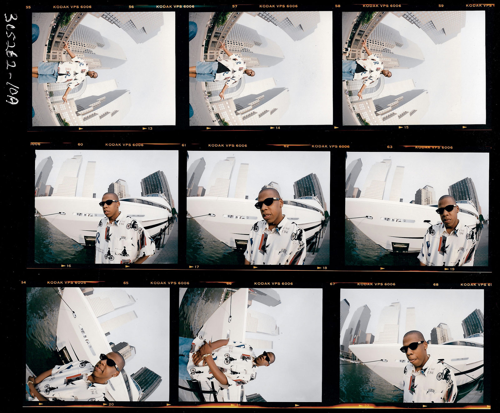 96c174030e594 Hova had a custom-made nameplate put on one of the Lexuses used in the  shoot