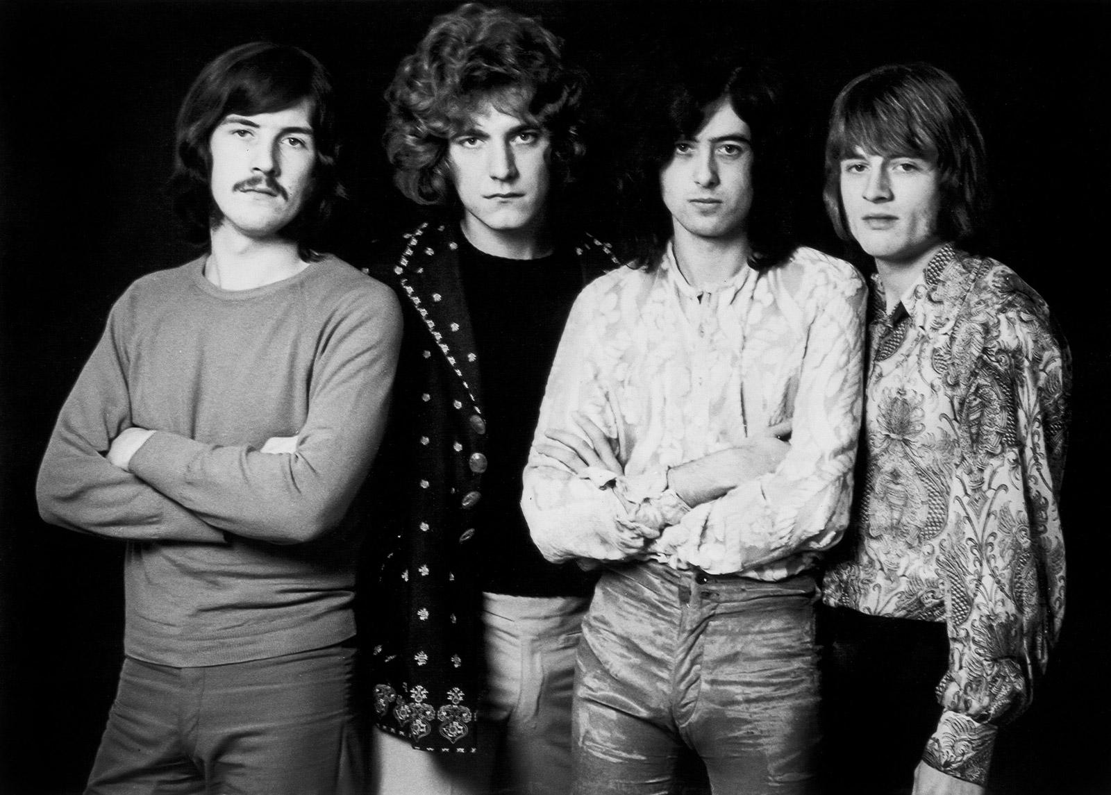 Rare and unseen photos of Led Zeppelin - CNN com