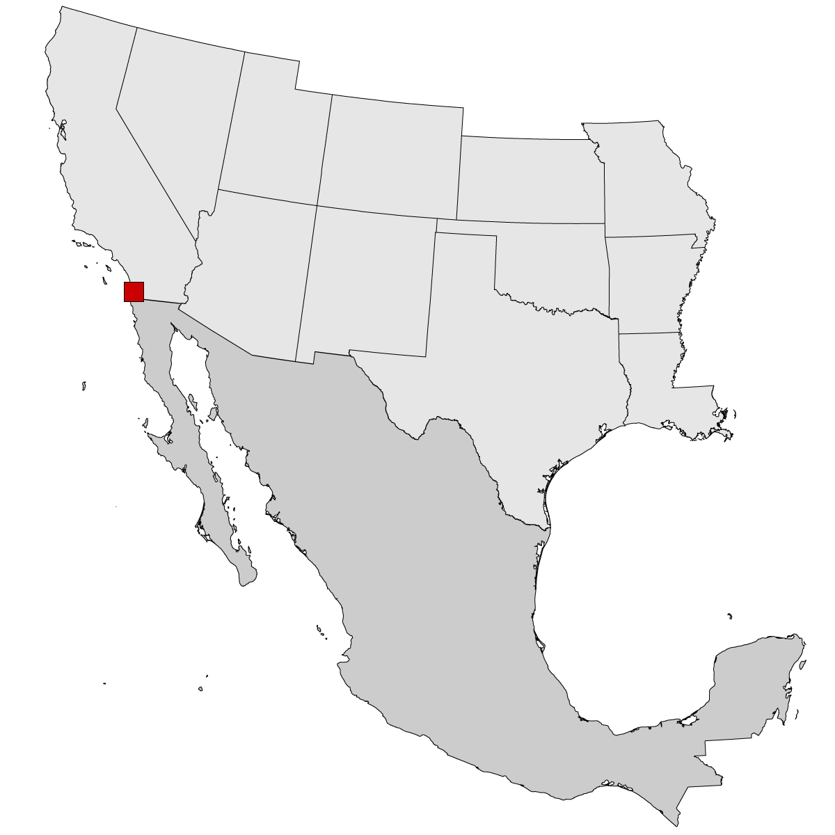 Usa Border Map Mexico Stock Photos Usa Border Map Mexico