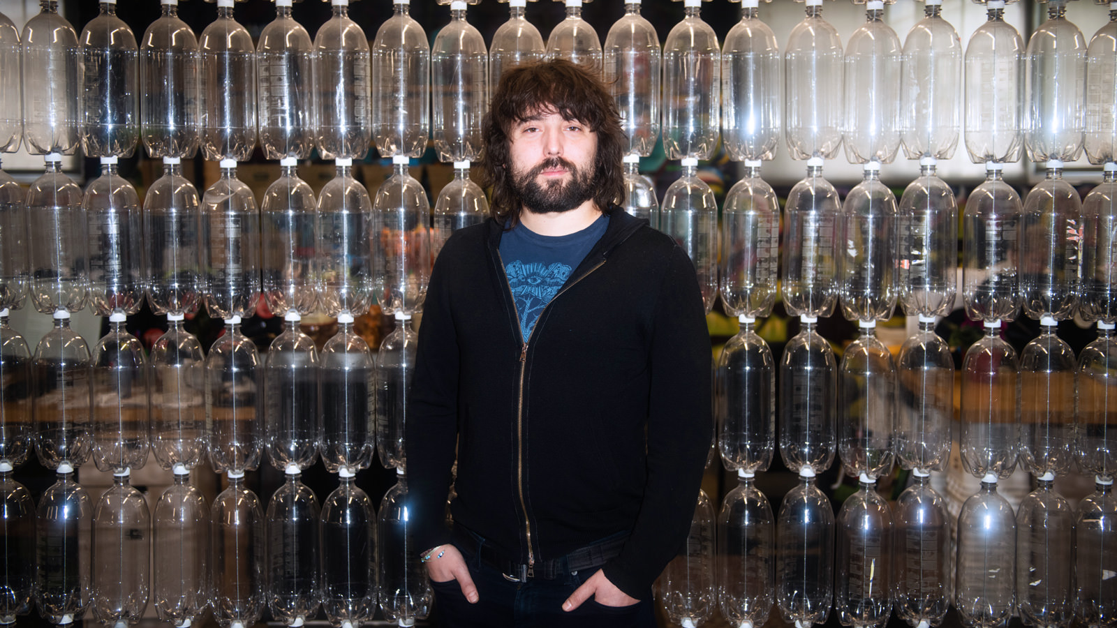 Tom Szaky, CEO of TerraCycle and the brains behind Loop. (Mark Kauzlarich for CNN)