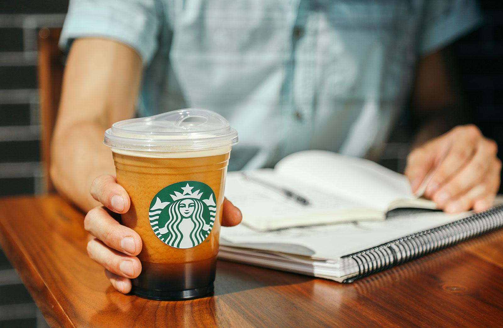Starbucks debuted its strawless lid in 2018. (Starbucks)