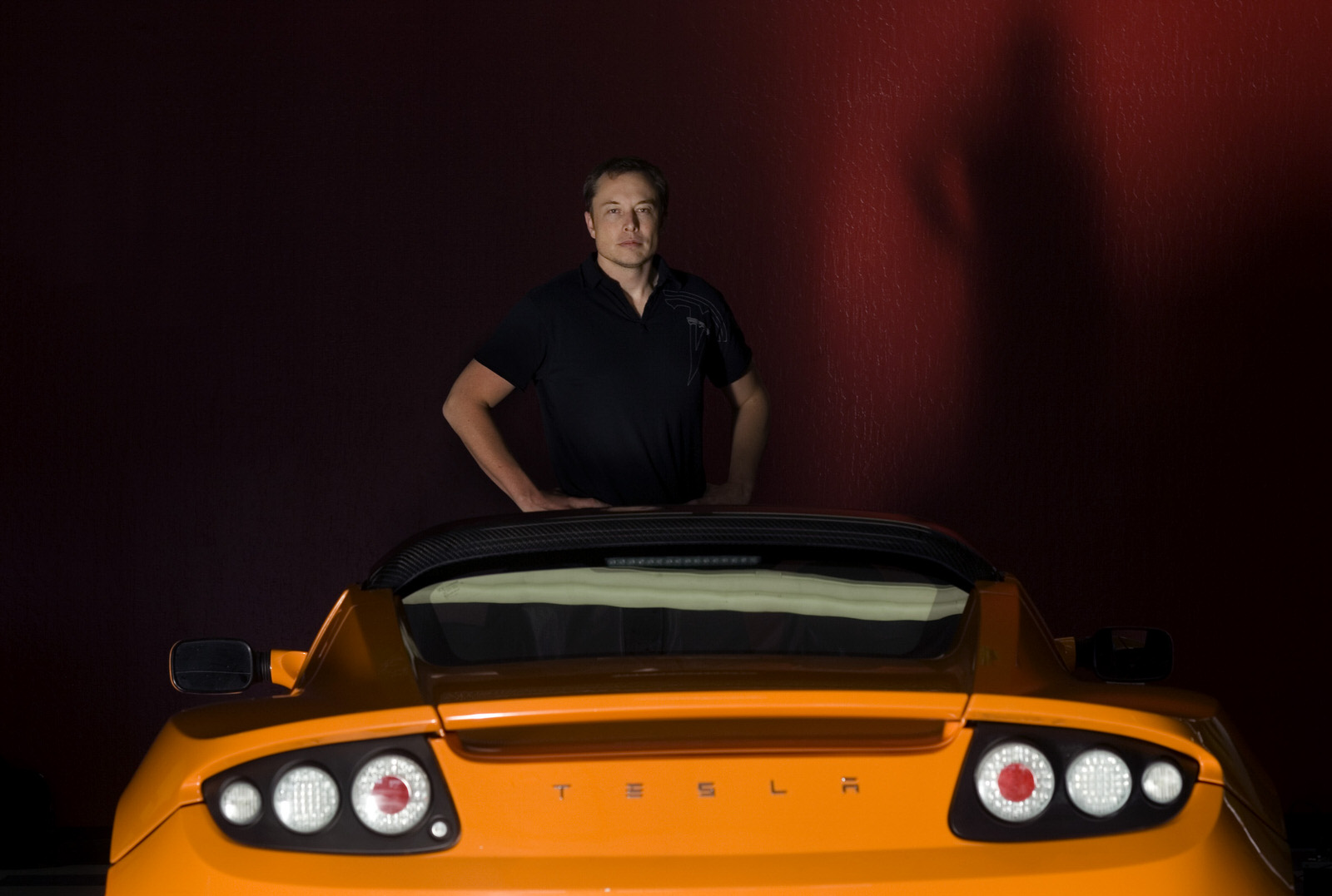 Musk gets the first Roadster