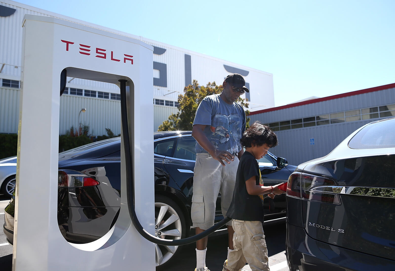 Free charges for Tesla owners