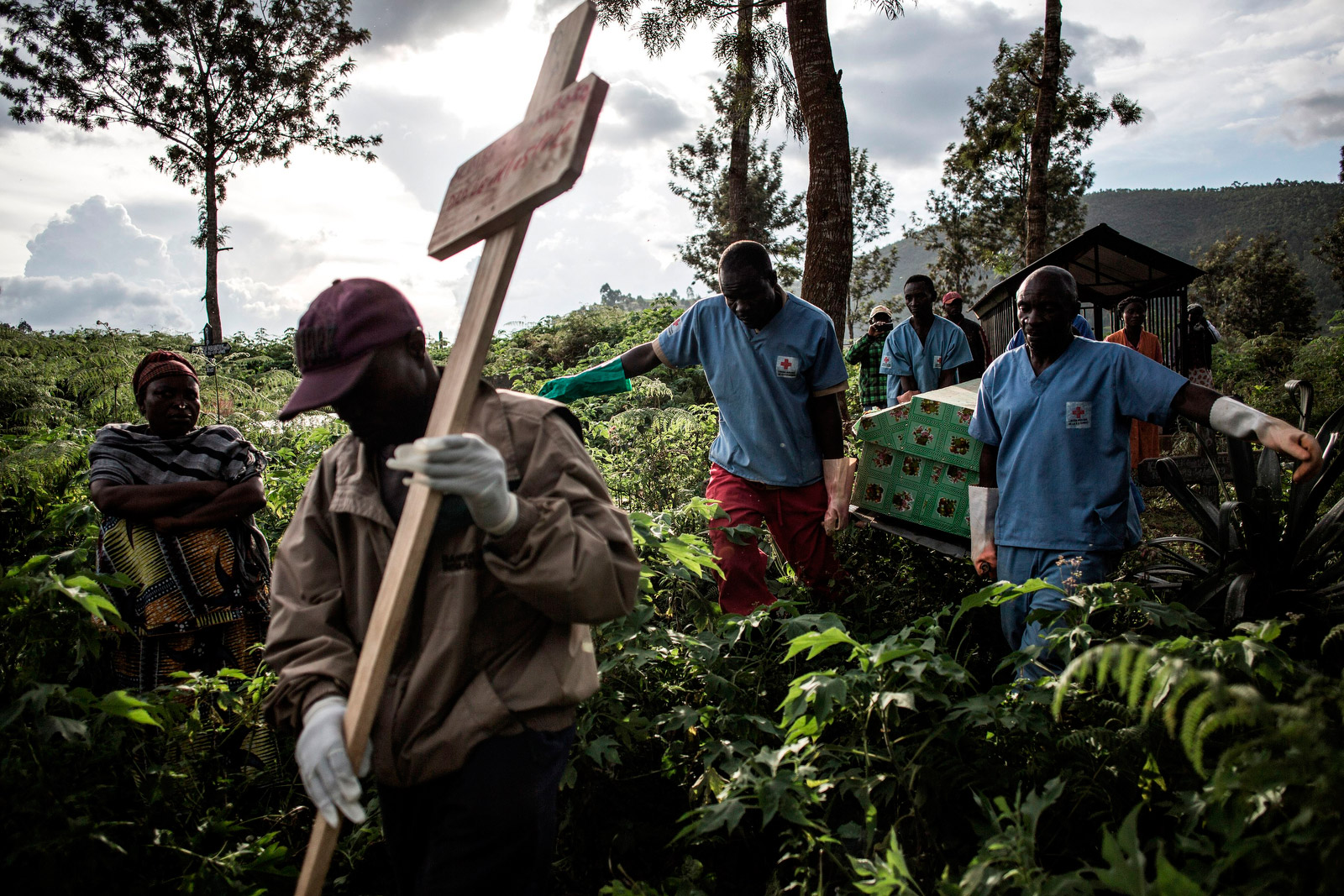 The Ebola death toll exceeds 1,600. This is what it's like on the front lines
