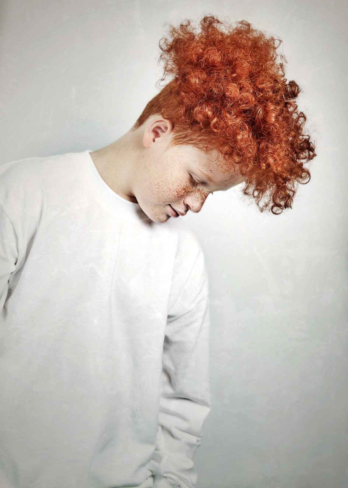 These striking portraits celebrate redheads young and old