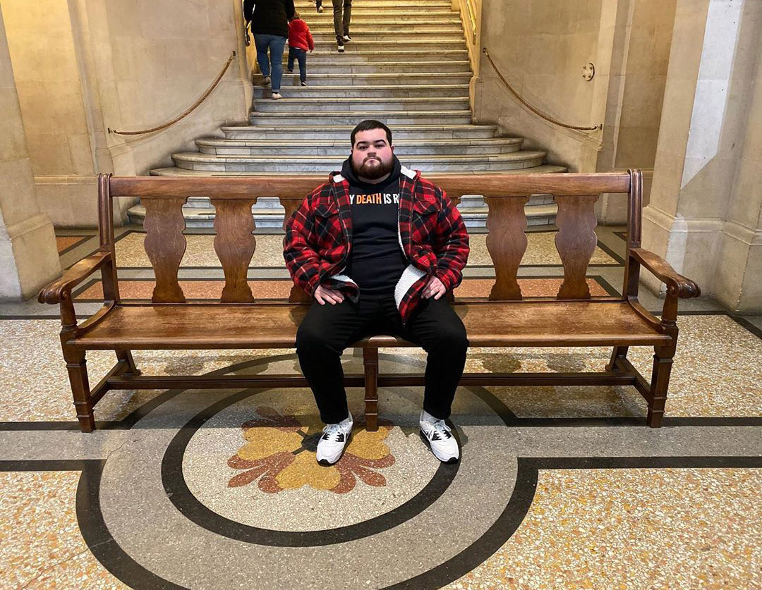 Some people rate movies or restaurants. He rates benches 11