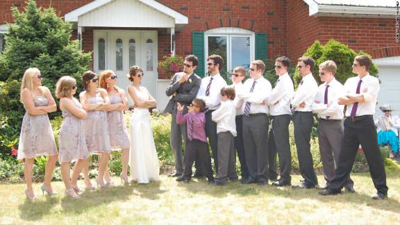 Brown University senior Leah Cogan and Harvard University senior Chris Jackson married July 1 after dating for six years.