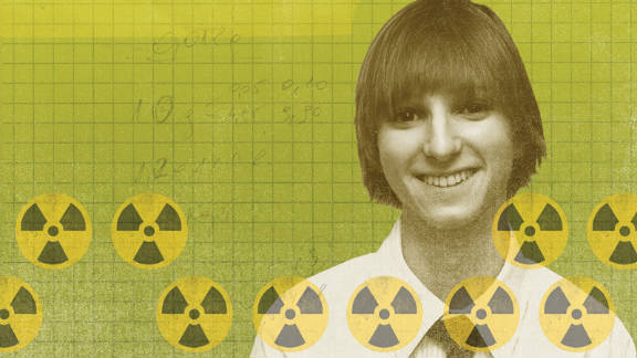 Taylor Wilson invented an inexpensive radiation detector for use at U.S. ports.