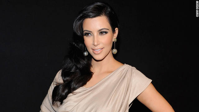 """I'm the happiest girl in the world,"" Kim Kardashian said. ""I married a great guy."""