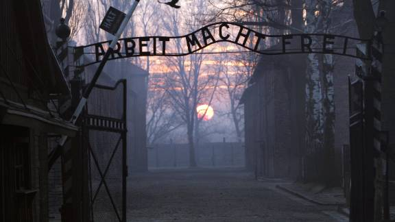 At least 1.1 million Jews, Poles, gay and disabled people, and other persecuted minorities were killed at the Auschwitz prison camp.