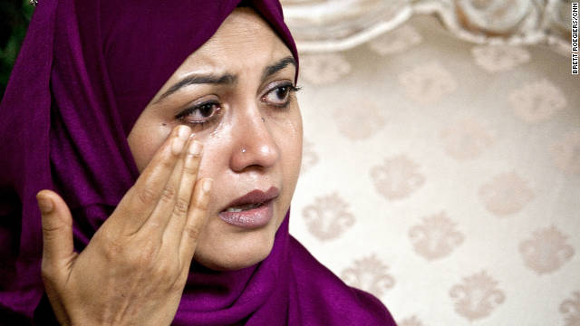 Ten years after her husband was killed on September 11, Baraheen Ashrafi's tears still come easy. 8/23/2011