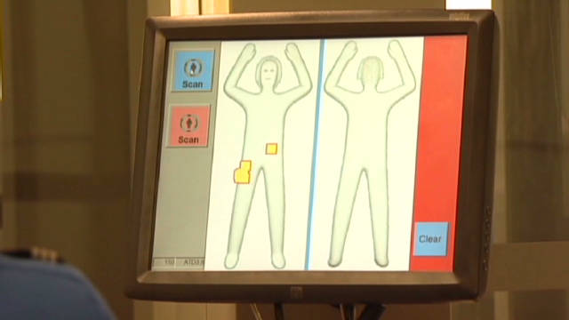 2011: New TSA body scanners