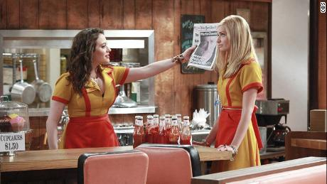 """Two Broke Girls,"" starring Kat Dennings and Beth Behrs, is a popular show among Chinese millennials."