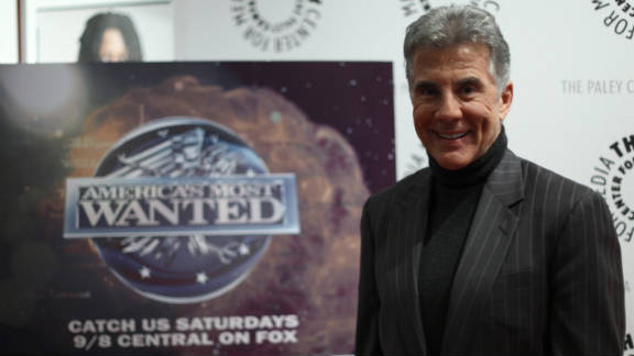 """Hosted and executive produced by John Walsh, """"America's Most Wanted"""" helped capture more than 1,100 fugitives in the U.S."""
