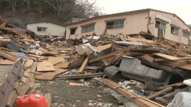 The earthquake and tsunami that hit Japan in March caused devastation in parts of the island nation.