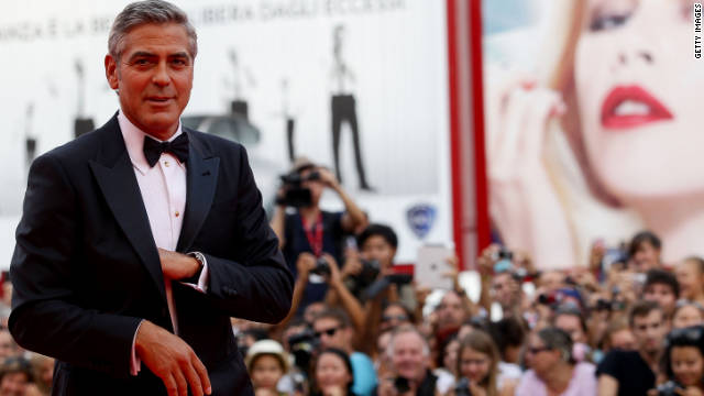 George Clooney is expected to be in Los Angeles with Stacy Keibler before he jets to the Toronto International Film Festival.
