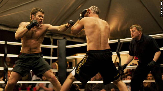 "Joel Edgerton plays Brendan Conlon in ""Warrior"""
