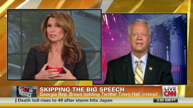 Rep. Broun: 'Our president doesn't listen'