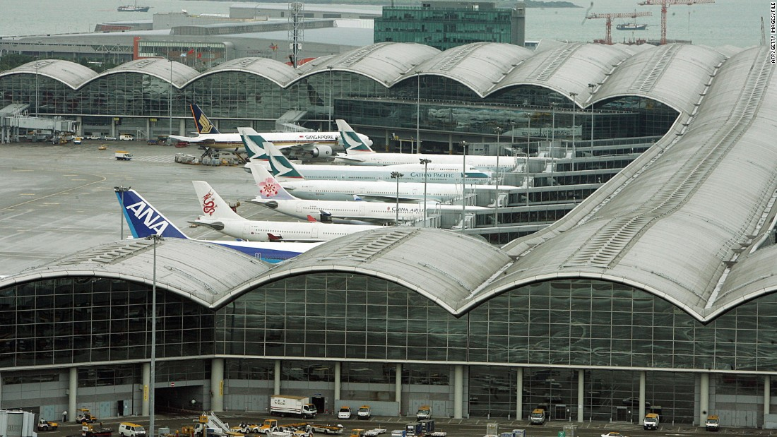 Once voted the world's best airport, Hong Kong International Airport now sits at No. 5.