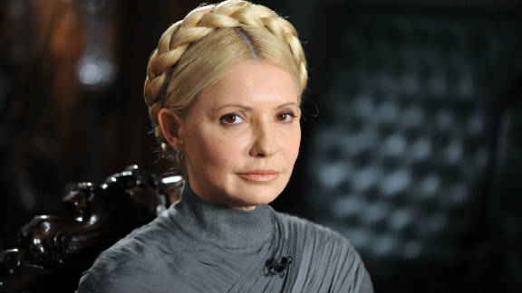 """Yulia Tymoshenko was found guilty in October 2011 of  """"abusing her office"""" over a 2009 deal with Gazprom."""