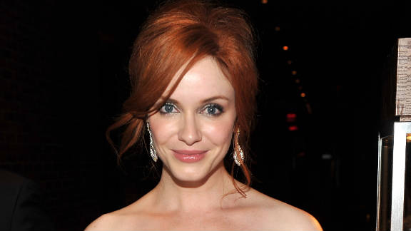 """In """"I Don't Know How She Does It,"""" Christina Hendricks plays a single working mom."""