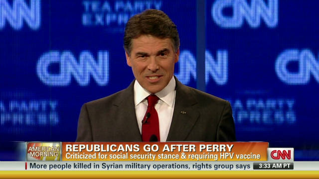 Candidates take on Perry: How did he do?