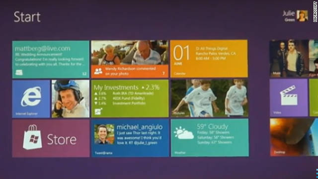 Mashable got a taste of Windows 8's touchscreen capabilities at the D9 conference earlier this year.