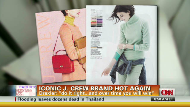 Iconic J. Crew brand hot again