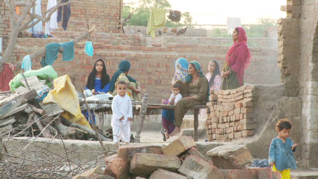 Villages, lives broken by Pakistan floods