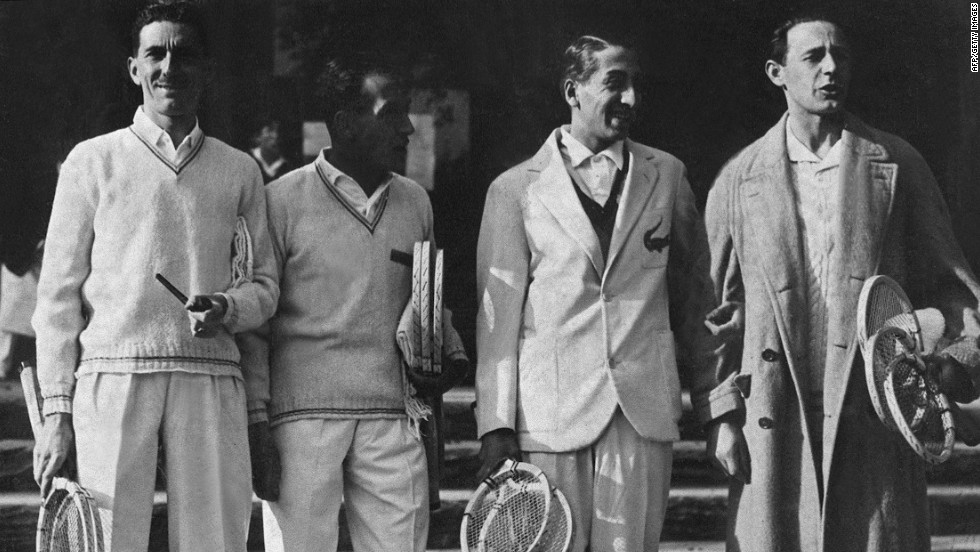 "Alongside compatriots Jacques Brugnon, Jean Borotra, and Henri Cochet, Lacoste helped make up the ""Four Musketeers"" -- a group who cemented France's status as the dominant force in the sport during the 1920s and 1930s. They led their nation to six straight Davis Cup titles."