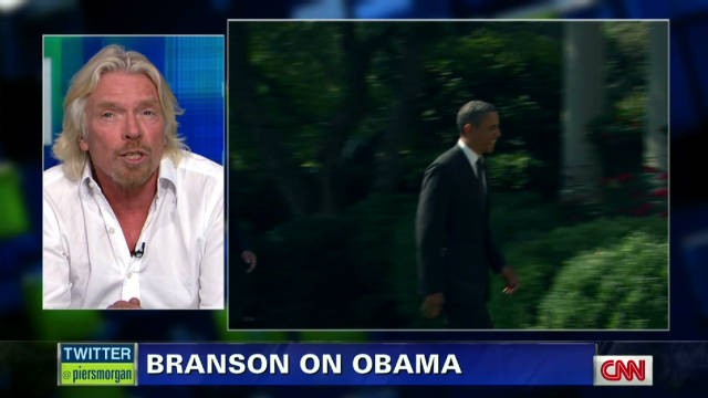 piers richard branson obama chances_00010001