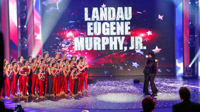 Landau Eugene Murphy Jr. narrowly beat out Silhouettes, which had the show's youngest contestant to date.