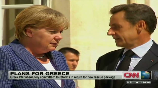 Europe leaders commit to Greece aid