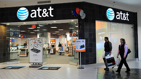 U.S. cellular giant AT&T Mobility is upgrading its wireless data network.