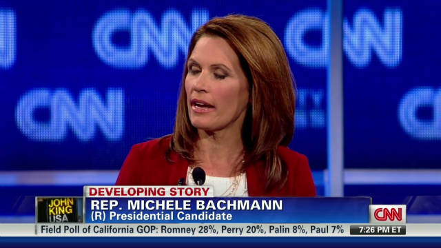 Bachmann haunted by HPV comments?