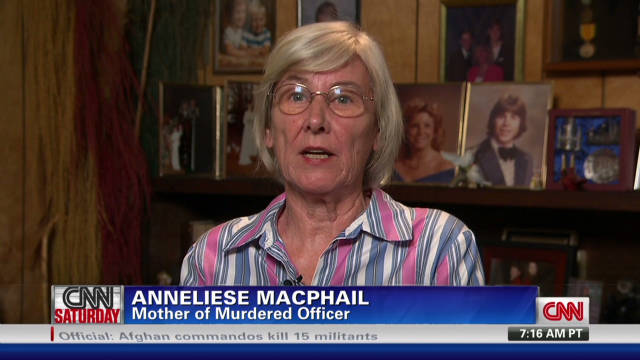 Mother of slain cop: 'It has been hell'