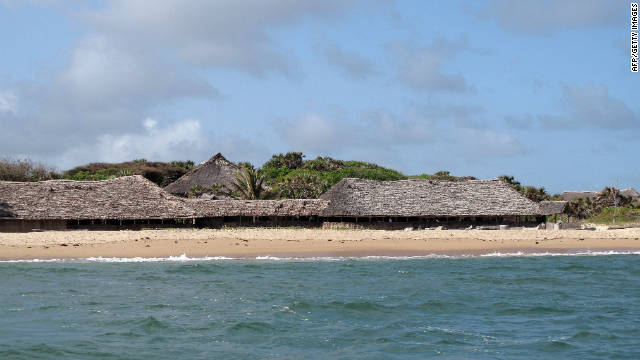 This photo, taken on September 12, 2011, shows the resort where David and Judith Tebbutt were attacked.