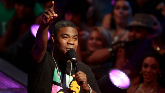"""Tracy Morgan has vivid memories of watching """"The Exorcist"""" when he was a  youngster."""