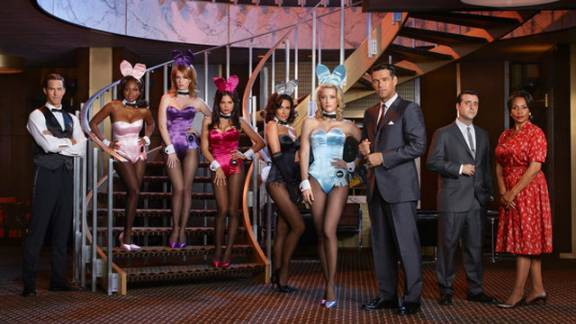 """The Playboy Club"" reportedly lost advertisers after the Parents Television Council labeled it indecent. The show was axed in 2011 after only three episodes."