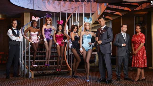"The cast of NBC's ""The Playboy Club"""