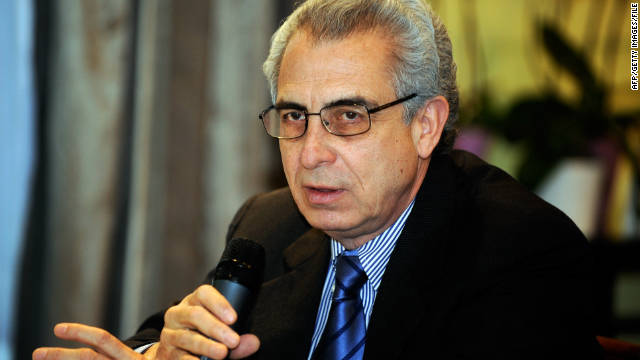 The former Mexican President, Ernesto Zedillo, speaking at a press conference in January 2011.